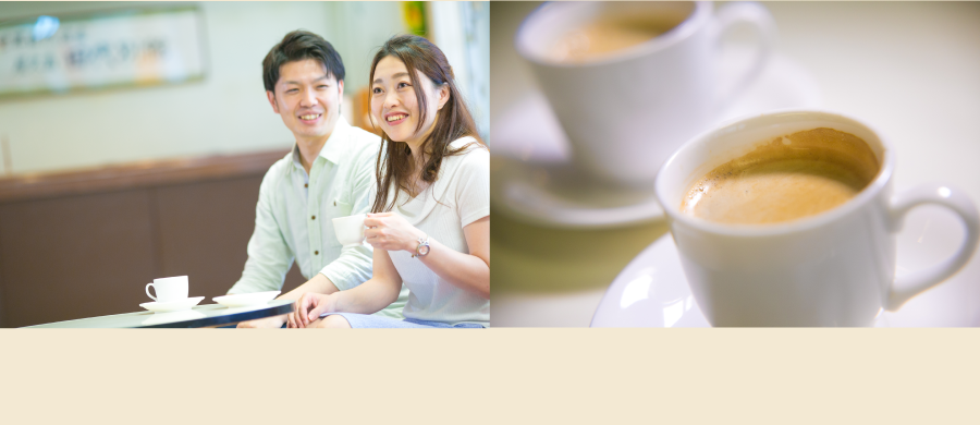 In the Lobby. Enjoy freshly brewed coffee by using a coffee service coupon.