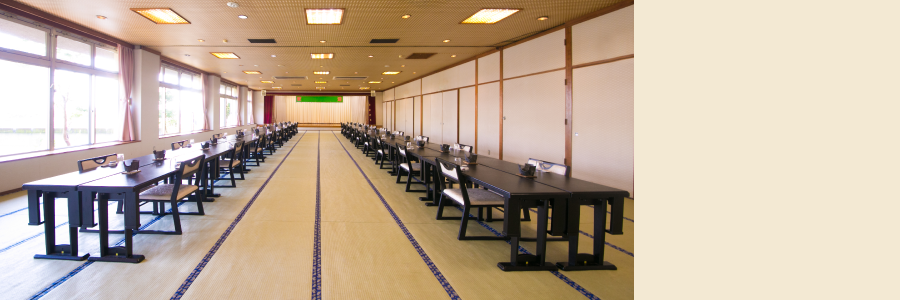Banquet hall Shiratani